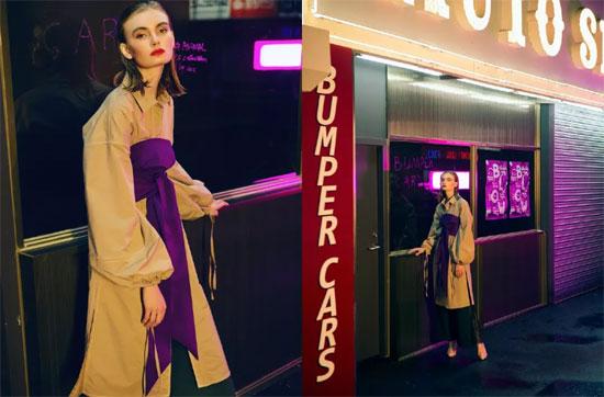 朗黛国际女装2018秋冬形象大片PREVIEW
