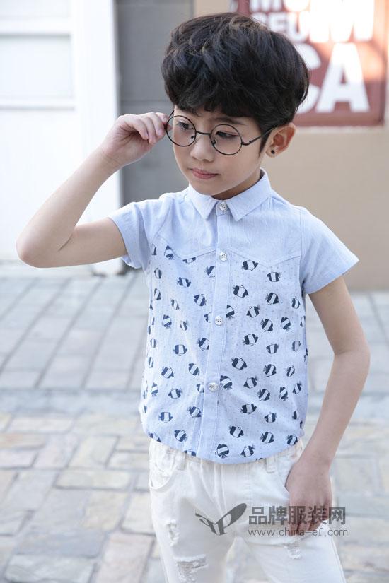 简约清凉的土巴兔童装搭配 就是孩子夏日的避暑神器
