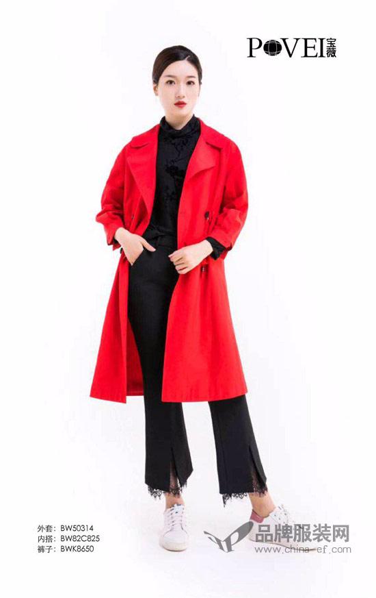 宝薇女装当红不让 厉鬼红秒杀街拍达人
