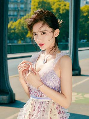 Qeelin珠宝Yu Yi与品牌大使古力娜扎诠释东方格调