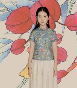 曼茜纱创造民族的款式 中国风备受人们所喜爱