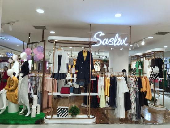 创业好项目!莎斯莱思时尚女装 开店狂潮停不下来