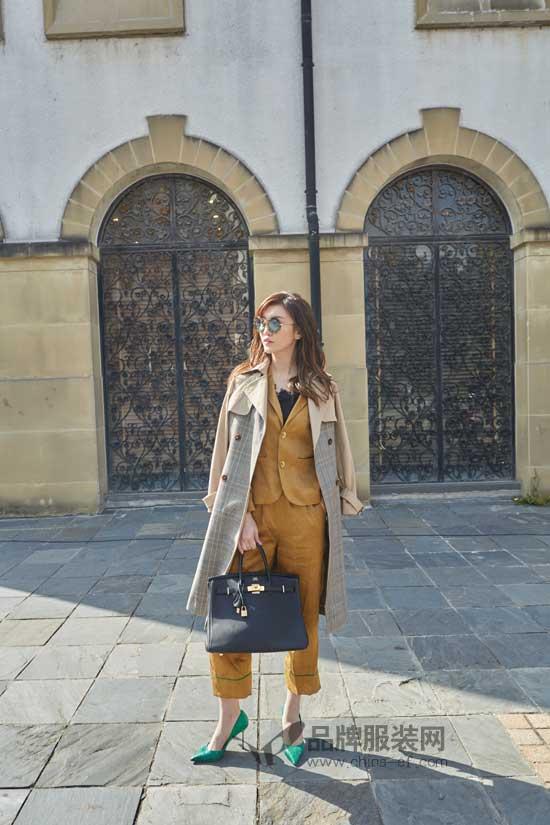 凯伦诗品牌女装清新、淡雅、气质  美好的一天好衣相伴
