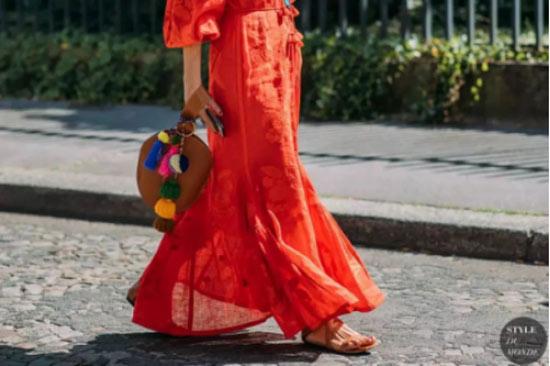 丹比奴潮流穿搭|今年秋季一定要穿红色 美炸了!