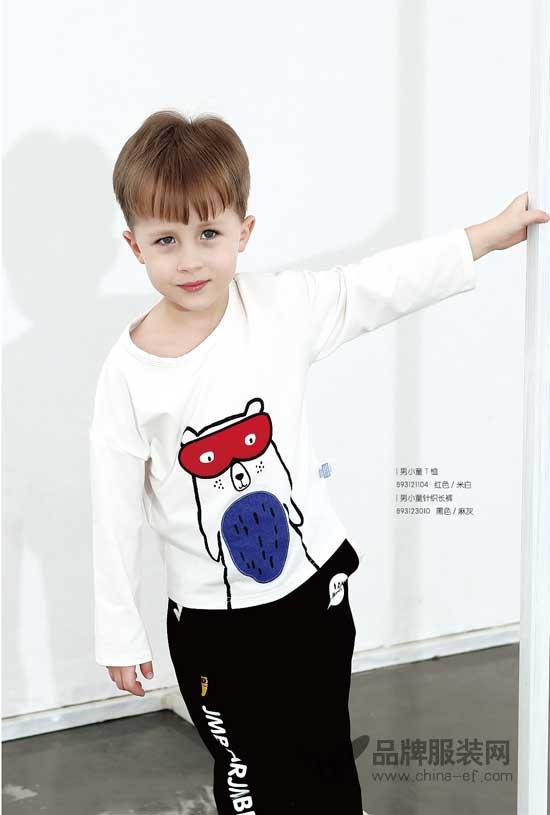 杰米熊童装品牌卡通款式的衣服 宝宝的爱