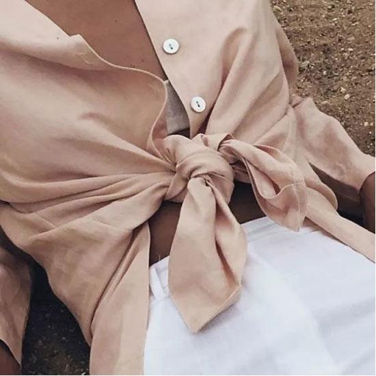 新申亚麻大师 | 怕热爱出汗 是时候穿亚麻衫变气质精了