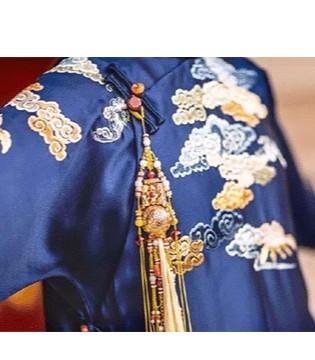 延禧攻略简直TCE中国服装定制展的女装定制大片