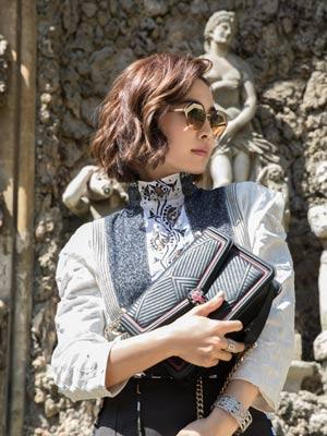 BVLGARI携手天后蔡依林 开启意大利时尚之旅
