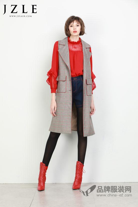 """好""""色""""的珈姿莱尔 给你带来优雅妩媚的秋日时尚"""