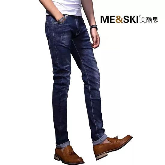 美酷思品牌:牛仔裤才是男士初秋必备款