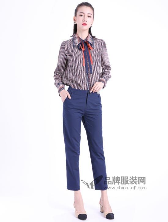 文果怡彩女装告诉你 这个秋季就得这么穿!