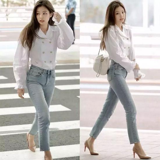 这三款上衣+牛仔裤=回头率200% 谁穿谁都美翻天!