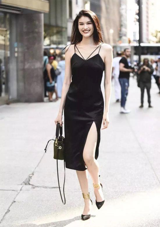 丹比奴:秋天穿连衣裙 它遮肉显瘦还显高 美死了!