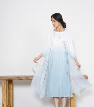 谷度服装加盟新款式设计 柔和舒适亲肤 谷度亚麻裙集合