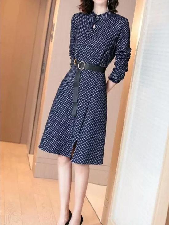 雨珊品牌女装 秋日优雅装扮穿出你的女人味