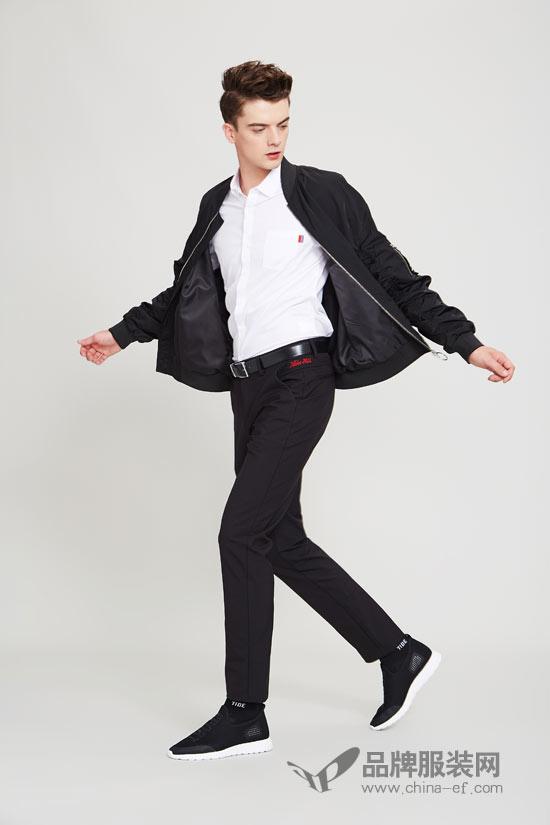 黑色不可撼动的时尚感 佐纳利让你更具型男范