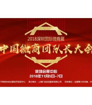 微商行业大震动中国团队长大会头次登陆深圳