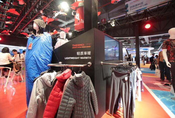 英威达亮相上海中国国际纺织面料及辅料(秋冬)博览会