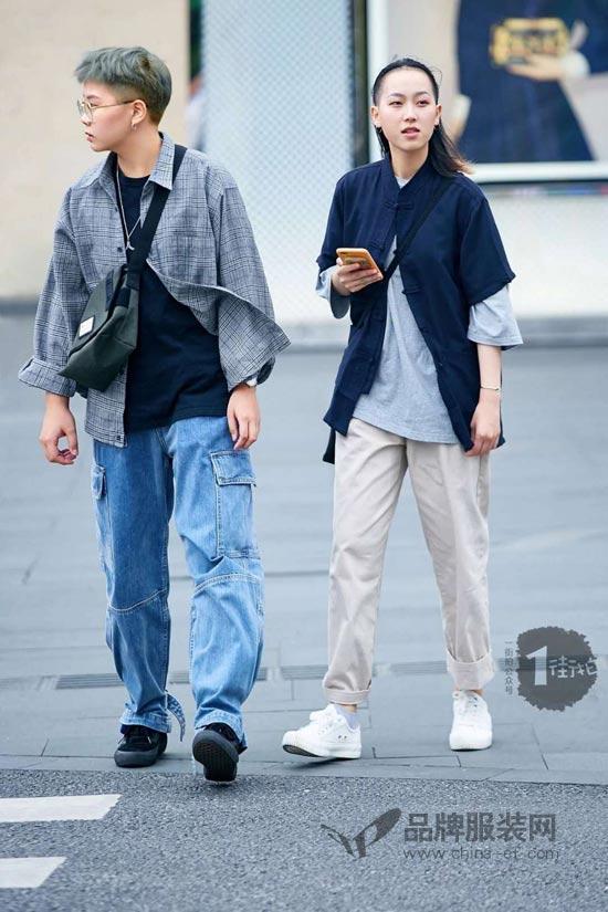 呦!中国风和街头感的混搭style有点酷哦