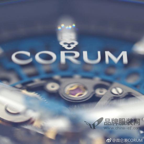 昆仑表CORUM 低调彰显优雅沉着的气质风范