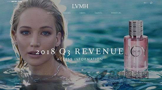 LVMH集团第三季度收入增长放缓 股价大跌4.89%