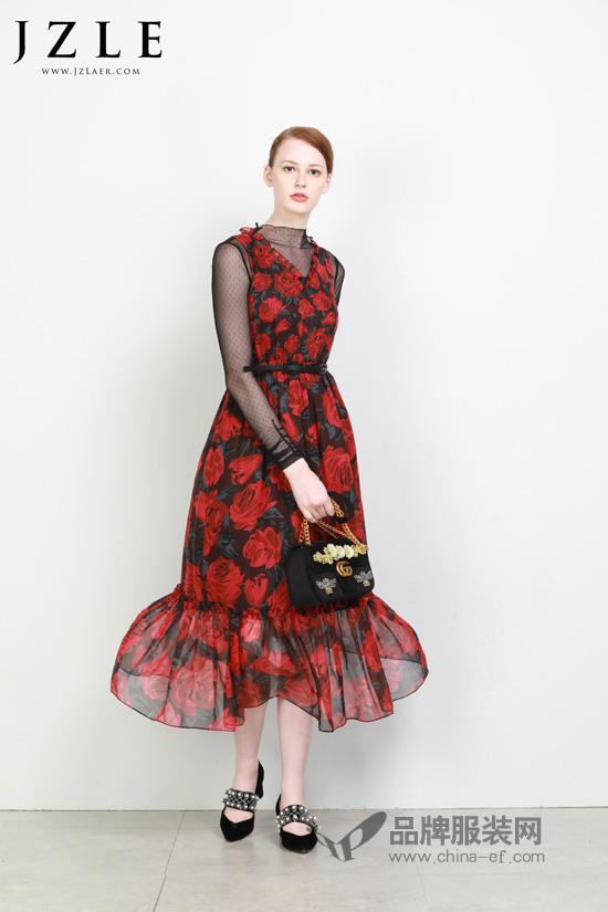 时尚搭配新姿势 珈姿莱尔的美你get到了吗