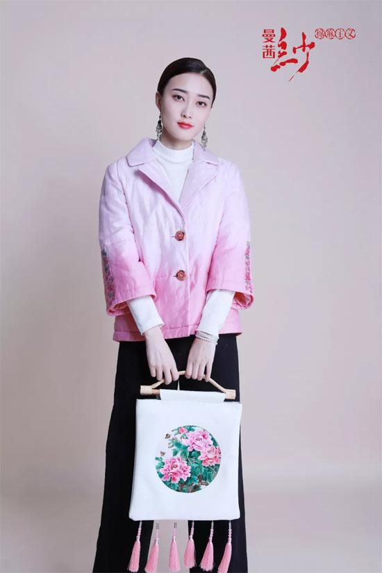 曼茜�女�b2018冬�b新品――藕粉系列
