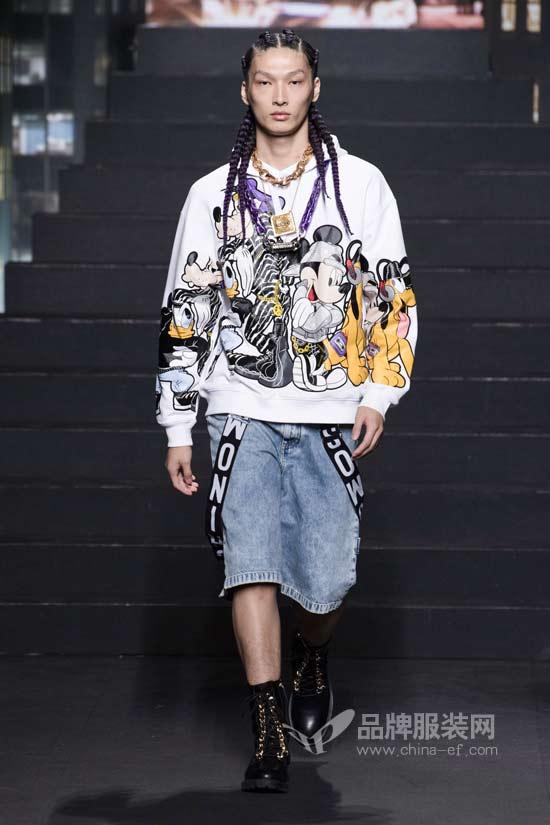 H&M x Moschino联名系列 玩转金属朋克风