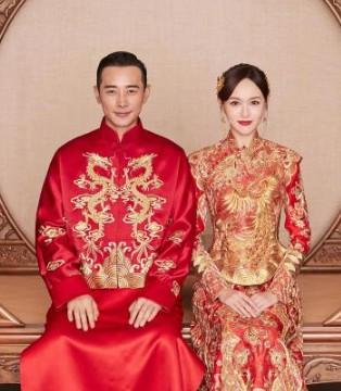 唐嫣罗晋官宣结婚 中式喜服制作耗时4506个小时