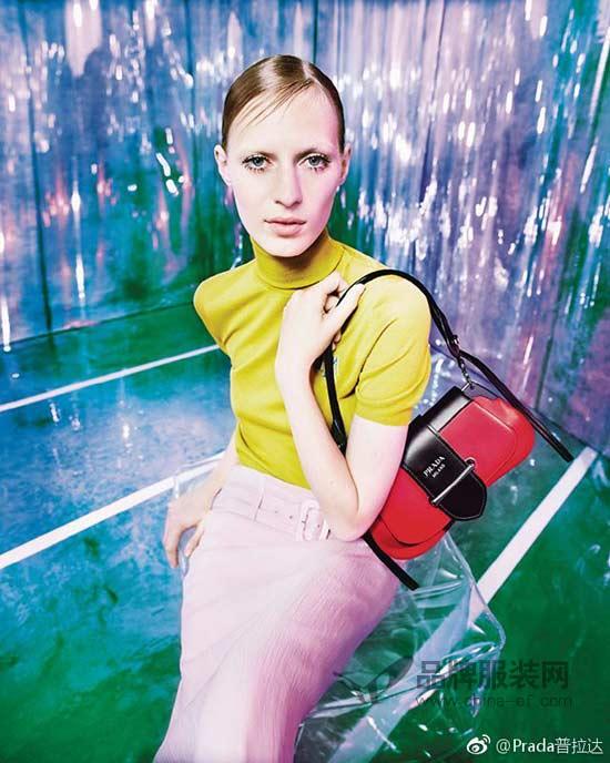 Prada2019早春系列广告大片 复古与未来的相遇