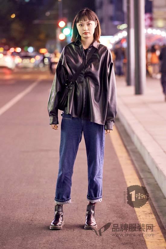 穿上工装风 你就是这个街头帅炸的妞
