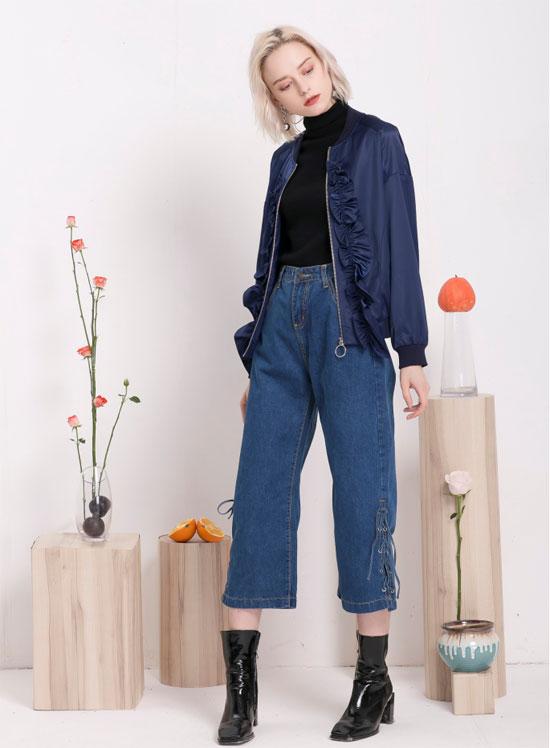 今年流行哪些阔腿裤?跟着莎斯莱思这样搭才足够时髦