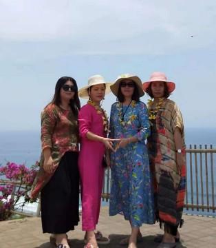 曼茜纱团队巴厘岛之旅 开启美好棉麻时光