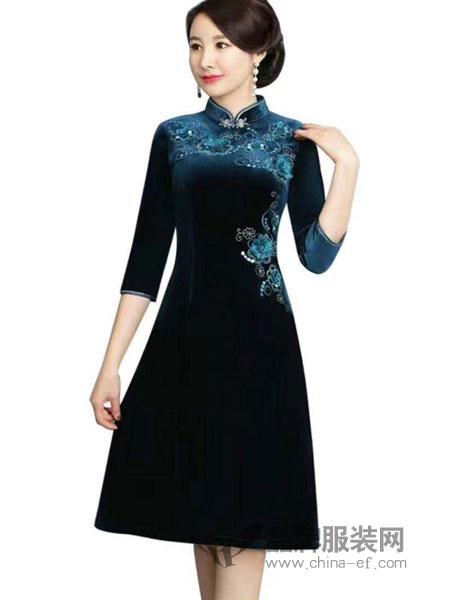 唐雅阁旗袍在等你 邂逅一场曼妙冬日时光