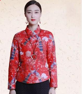 曼茜纱女装2018冬装新品——中国红系列