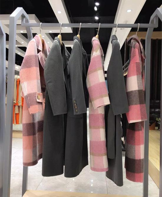 埃芙衣――高梵森 . 双面羊绒大衣系列