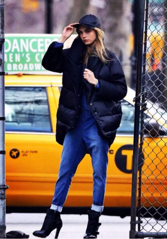 Saslax秋冬羽绒服搭配攻略 保暖时髦这么穿特别美!
