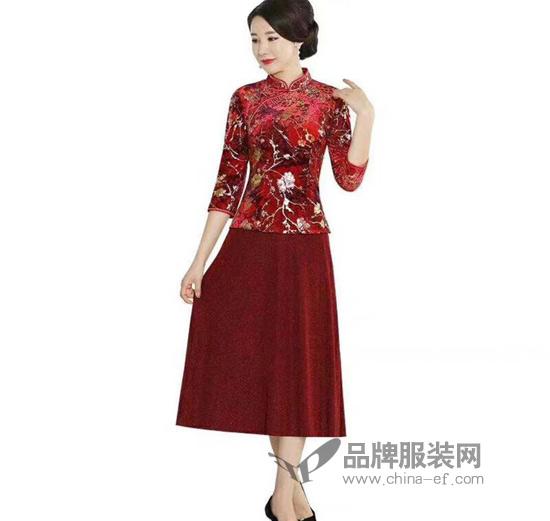 想要给老妈买衣服 唐雅阁的旗袍是个不错的选择