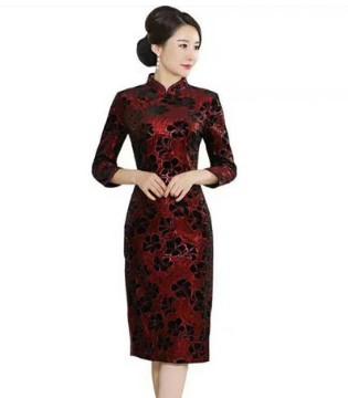 想要给老妈买衣服 唐雅阁旗袍是个不错的选择
