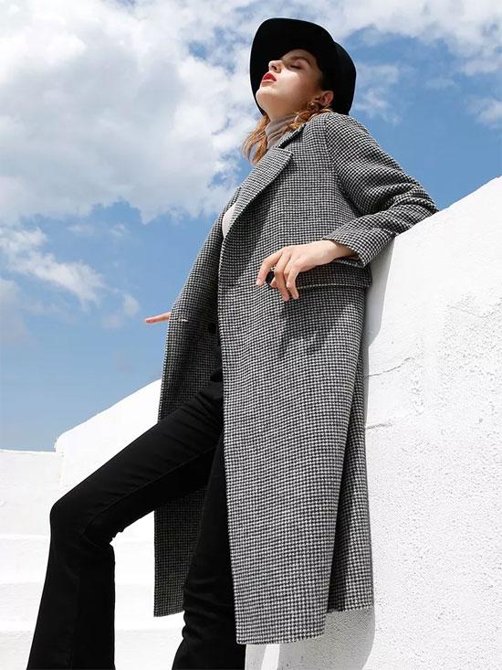"""吉米赛欧品牌女装 有一种经典叫""""格纹"""""""