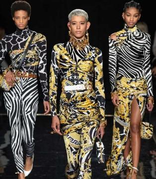Versace2019早秋系列 妖气冲天的优雅华贵