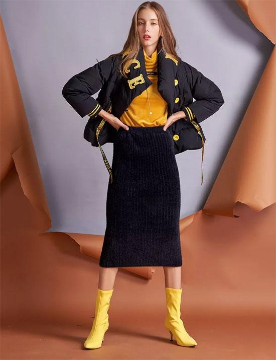 会穿羽绒的人 才是真正的时髦精!