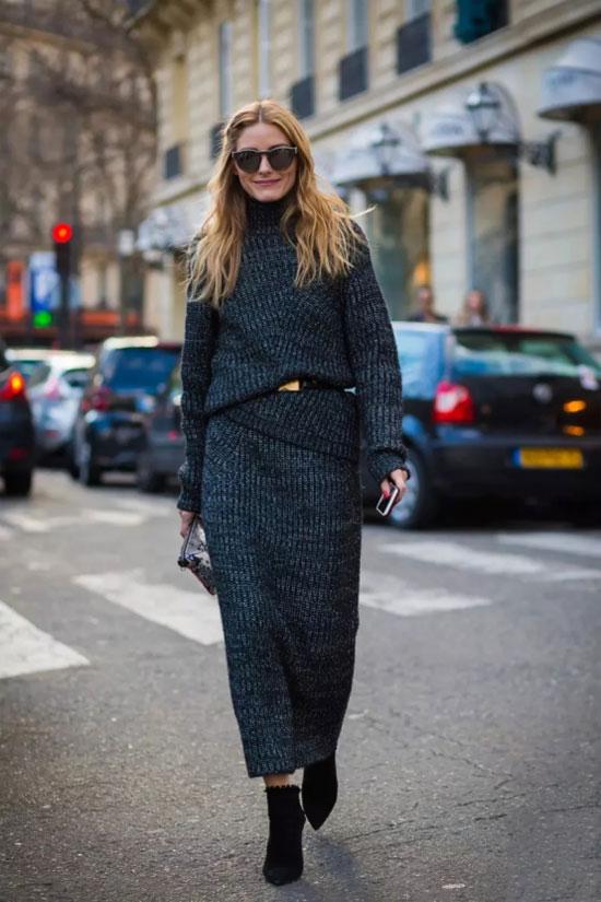 莎斯莱思时髦女装 简约温馨的针织裙 这样穿更显瘦!