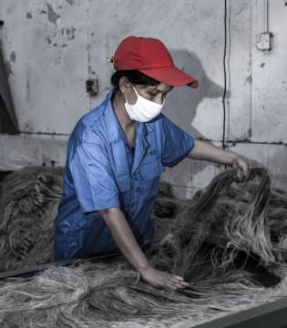 新申纺织匠人:一经一纬 织出绿色亚麻梦