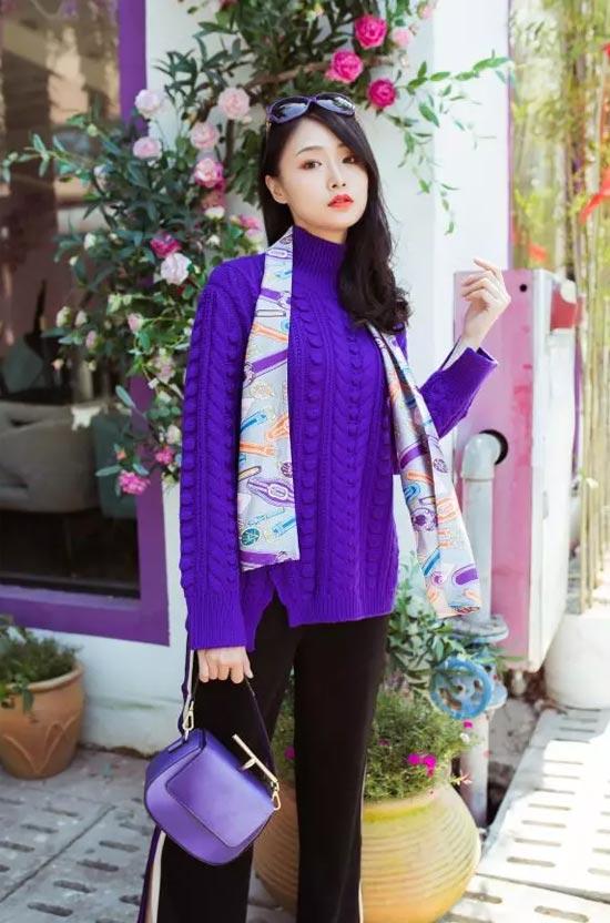 Violet丨【珈姿莱尔】紫色 赋予都市时尚创造力