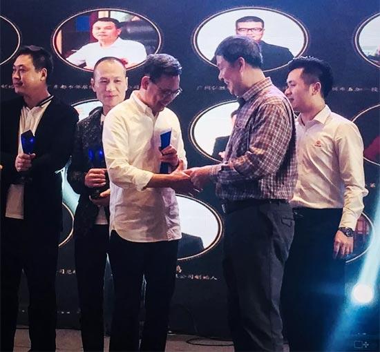 "J.de lumière斬獲""2018年度廣東省较具影響力品牌""!"