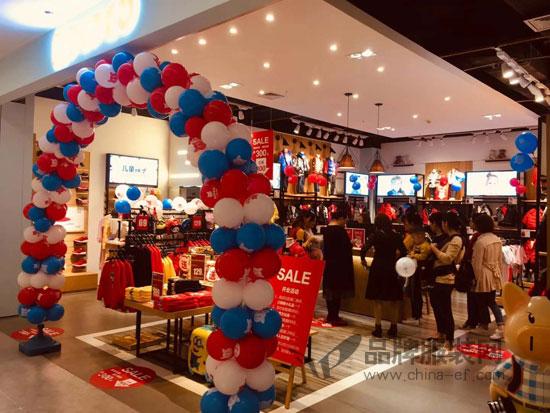 祝贺小猪班纳东莞家汇生活广场店今日盛大开业!