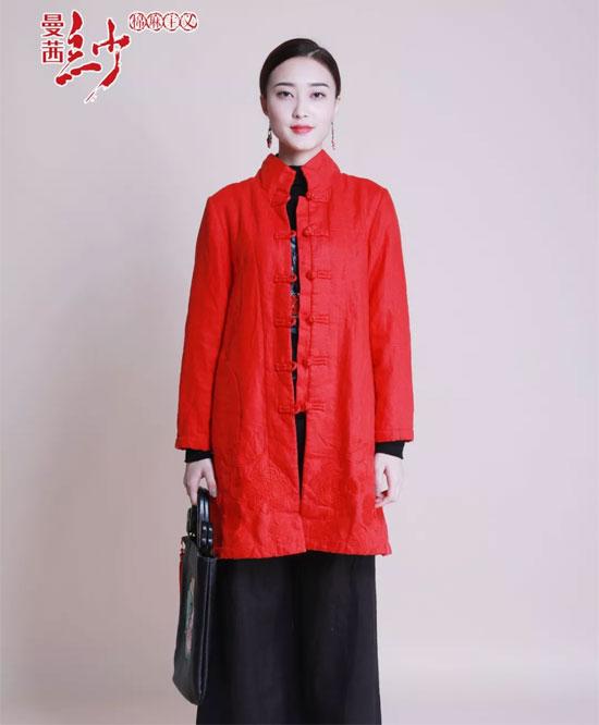 曼茜纱品牌女装丨属于你的圣诞红装