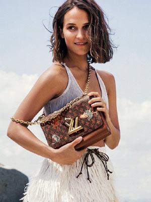 春风十里 都在Louis Vuitton的Twist手袋里