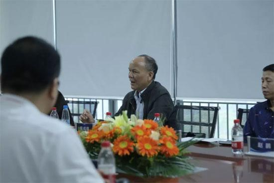喜迎贾俊荣部长一行领导莅临墨子星集团参观指导!